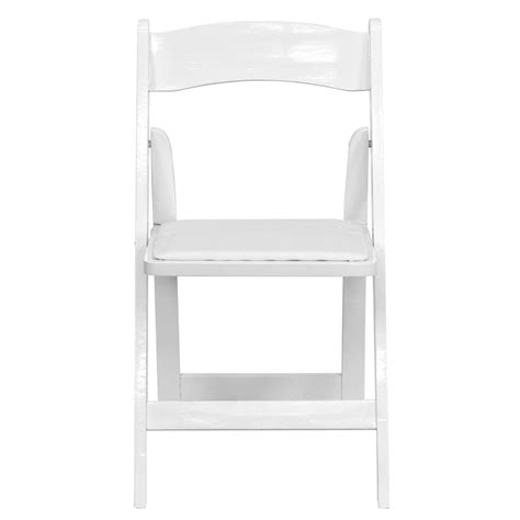White Wood Folding Chairs by Hercules Series White Wood Folding Chair With Vinyl Padded