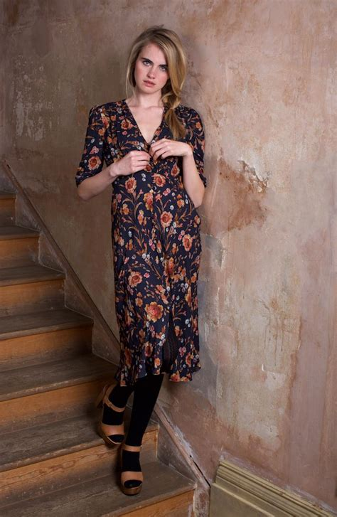 Dress Sabrina Flowers Vintage 1000 images about ghost x autumn winter on