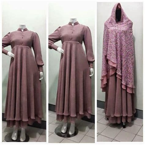 Lubna Syar I Ori Fa Fashion fashion gamis syar i penelusuran heejab style