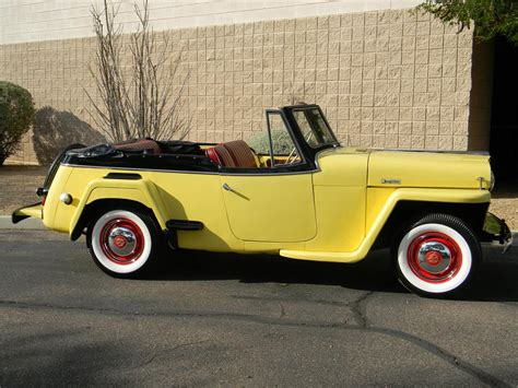 1949 Willys Jeepster Convertible 154272