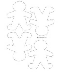 gingerbread decoration template gingerbread tree and printables