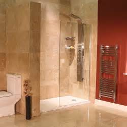 1850 x 1200mm walk in bathroom 8mm glass shower screen