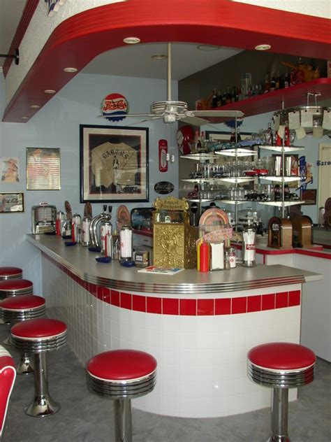 50s soda fountain bar eclectic kitchen los angeles