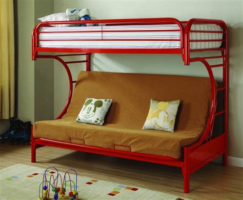 metal twin over full bunk bed metal bunk beds with futon outback twin full kids metal