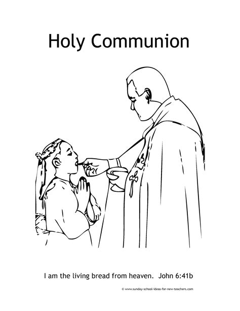 Holy Communion Printable Coloring Pages by Communion Sacraments Coloring Pages Coloring Home