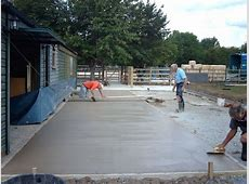 Warwick Garages - Groundwork, Bases, Concrete Base for ... Lay Groundwork
