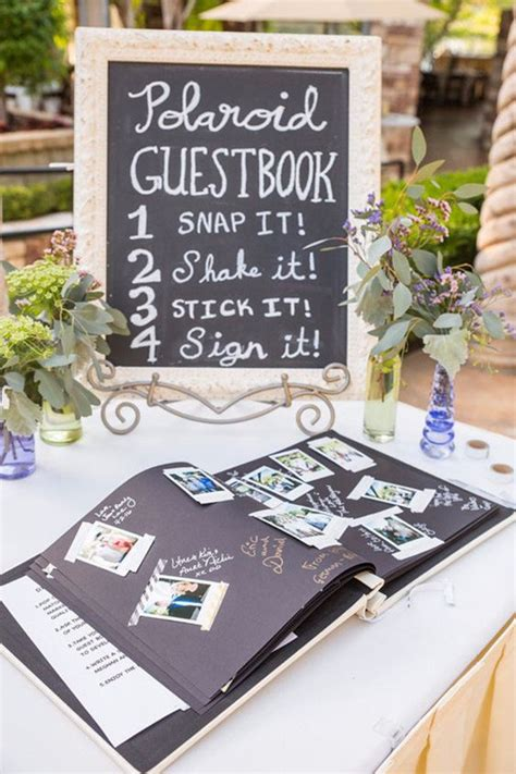 Wedding Guest Book Ideas by Top 10 Genius Wedding Ideas From Oh Best Day