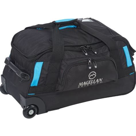 magellan outdoors 22 quot wheeled duffle bag academy