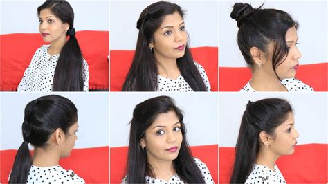 7 quick amp easy hairstyles for lazy girls superprincessjo