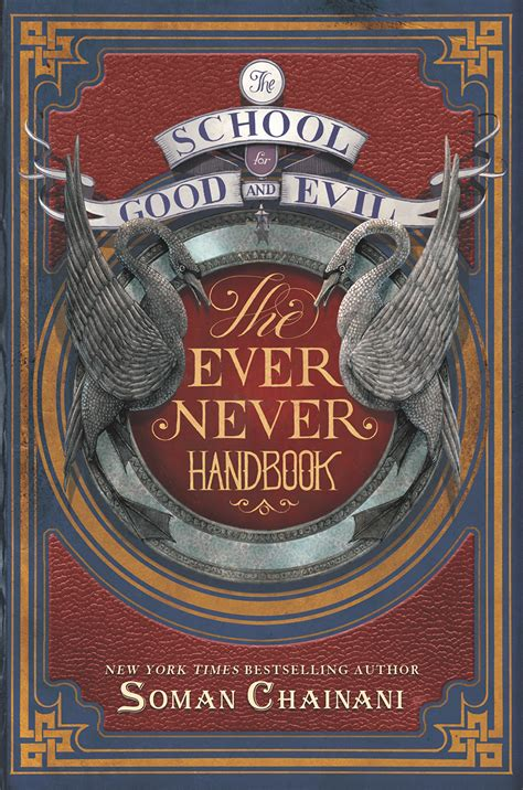 School For Evil 4 Soman Chainani cover reveal the school for and evil handbook