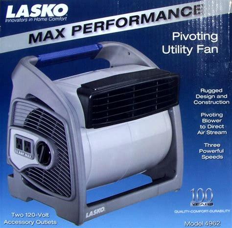 lasko pivoting utility fan new lasko 3 speed pivoting utility floor fan outlets