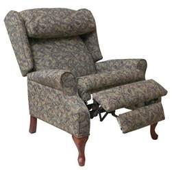 wing back recliner chair wing back recliner chairs mdrgiaqg2 medline