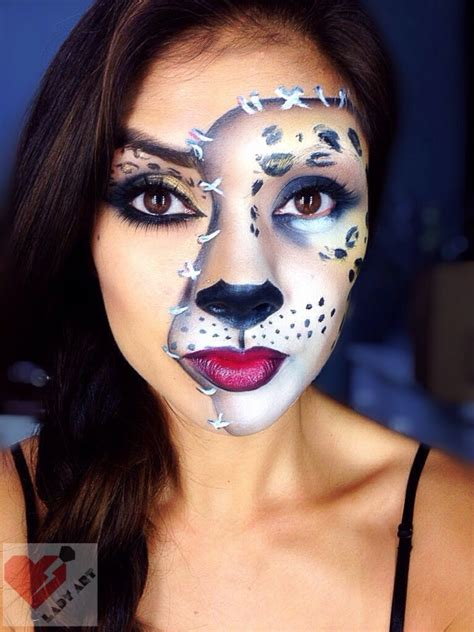 leopard makeup tutorial halloween leopard cat makeup tutorial youtube