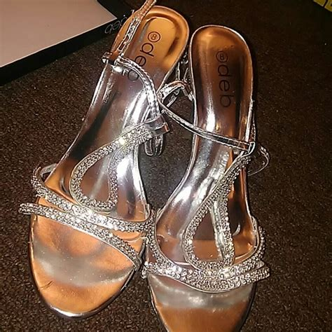 bedazzled high heels 13 deb shoes deb bedazzled high heels from