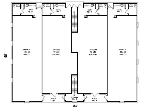 strip mall floor plans plan 006c 0040 find unique house plans home plans and