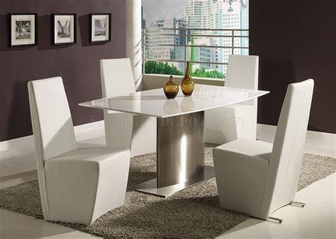 modern white dining room table modern dining room table w white marble top steel base