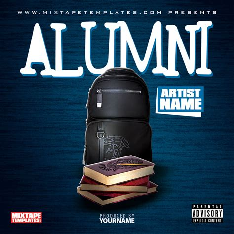 mixtape cover template alumni mixtape cover template by filthythedesigner on