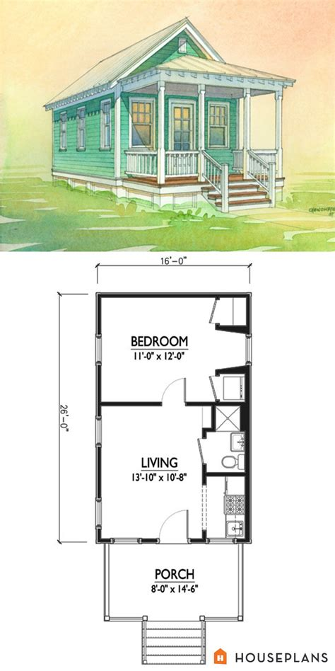 1 bedroom cottage floor plans charming tiny cottage plan by marianne cusato 400sft 1