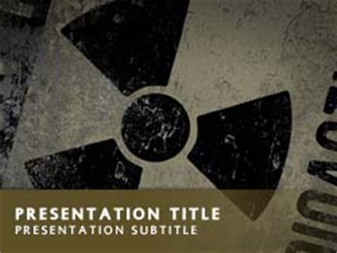 ppt templates for nuclear royalty free nuclear power powerpoint template in yellow