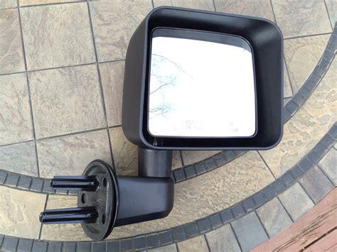 Doorless Jeep Mirrors Dietech Road Mirror Brackets For Going Doorless