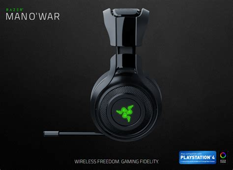 Headset Razer Wireless Razer Manowar Wireless Gaming Headset