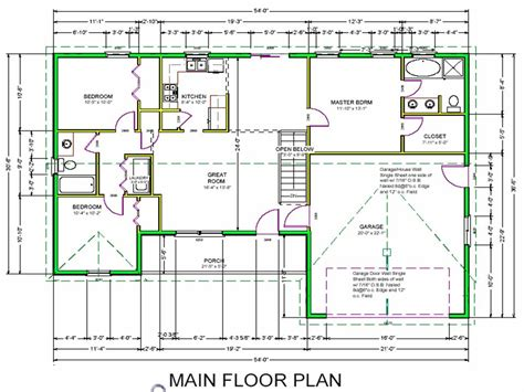 blueprint floor plans home ideas