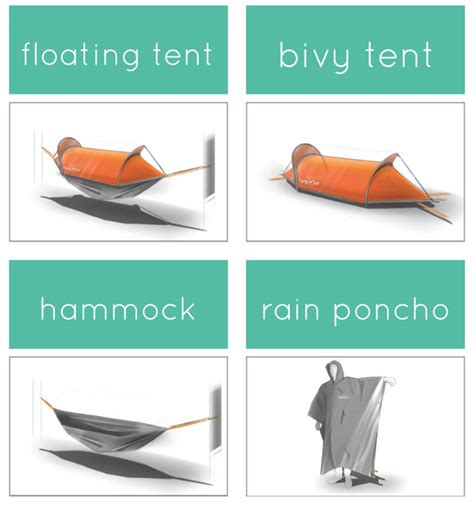 Hamac Concept by Stunning Flyingtent With Hamac Concept