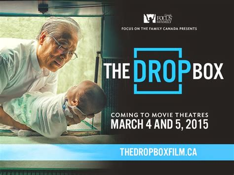Dropbox Movie | focus on the family canada to present the drop box