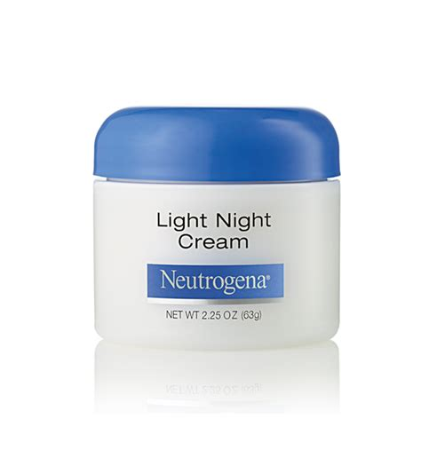 neutrogena light night cream neutrogena 174 light night cream