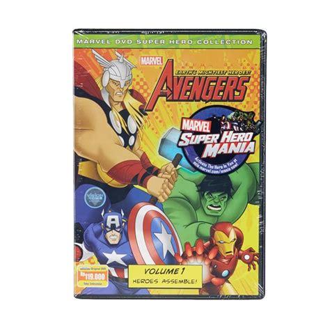 daftar film marvel heroes jual marvel dvd the avengers earth s mightiest heroes vol