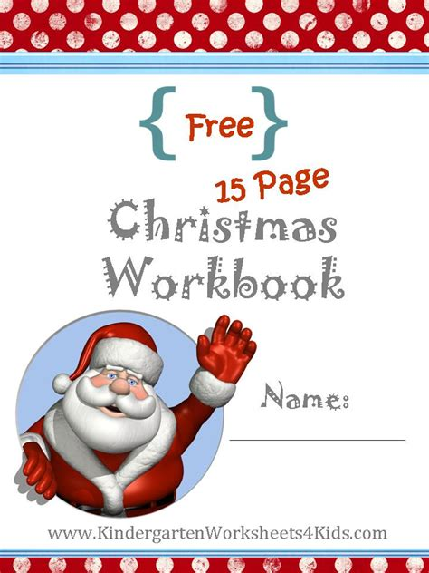 kindergarten math worksheets for christmas new calendar