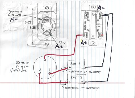 12 volt trolling motor battery wiring diagram wiring