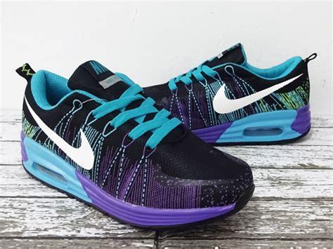 Sepatu Nike Ungu jual sepatu running fitnes nike airmax flyknit