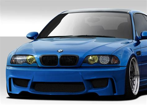 Bmw Bumpers by 2001 2006 Bmw M3 E46 Duraflex 1m Look Front Bumper Cover