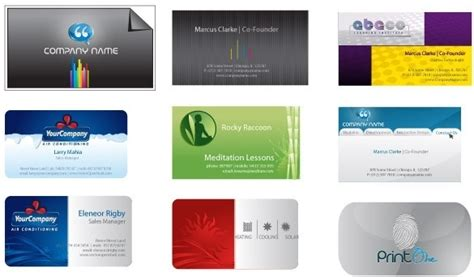 free ai business card templates business card free vector 21 703 files for