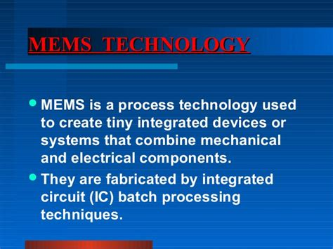 integrated circuit technology student poly seminar mems microphone jmsheed
