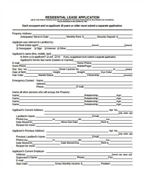 sle rental lease agreement apartment rental agreement 10 sle 28 images apartment