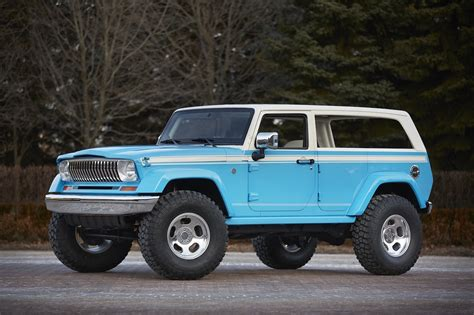 jeep surf jeep chief concept combines classic design wrangler and