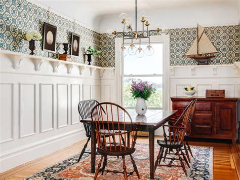 cape  meets san francisco victorian dining room