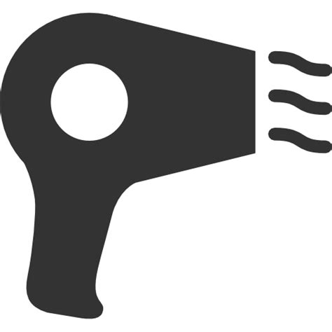 Hair Dryer Emoticon hair stuff hair dryer icon free as png and ico