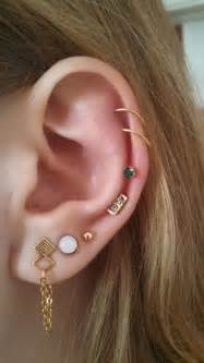 25 best ideas about multiple ear piercings on pinterest