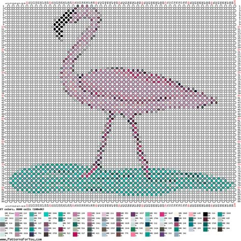 loom beading patterns free patterns animals cross stitch 7 best flamingo images on pinterest bead animals beaded