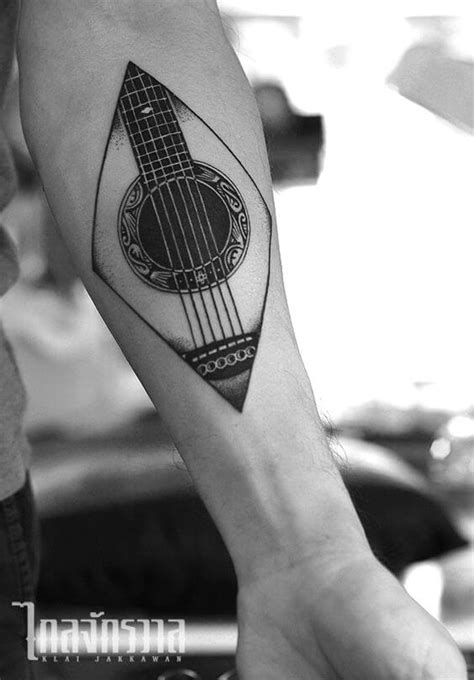 27 guitar tattoos you ll either love or