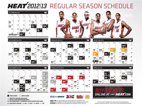 miami heat schedule