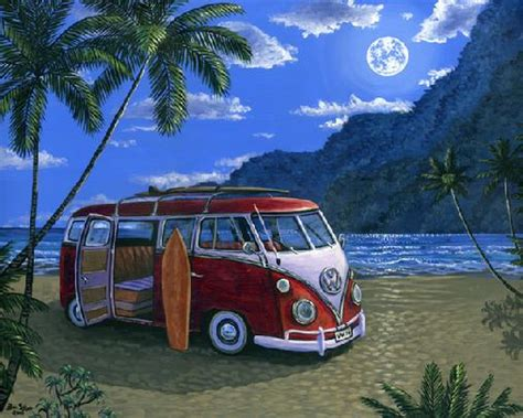 volkswagen bus beach the gallery for gt volkswagen van beach