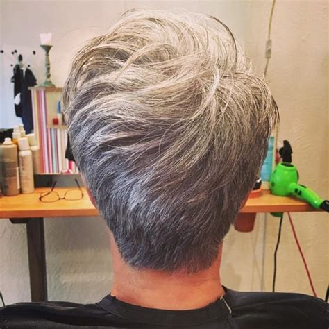 tapped hair cut for over 5o tapered haircuts for women over 50 back short hairstyle 2013