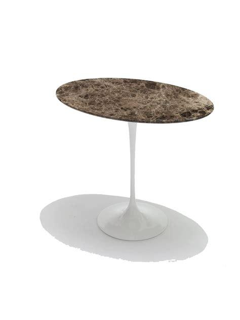 saarinen tulip side table oval couch potato company
