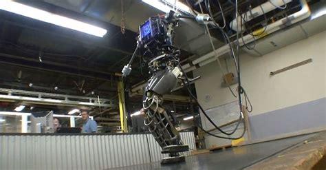 darpas atlas robot  real life terminator video