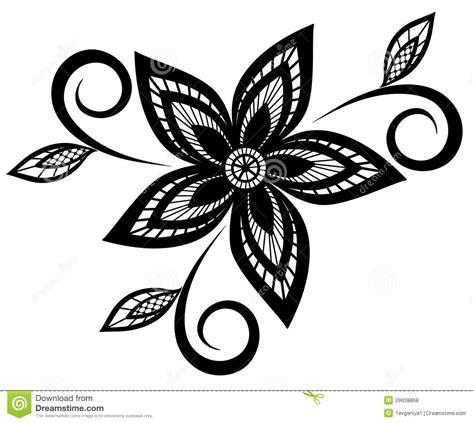 imagenes en blanco y negro flores elemento blanco y negro del dise 241 o del estado de flores