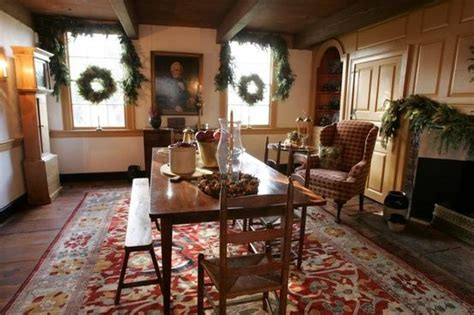 decorating   primitive colonial style early
